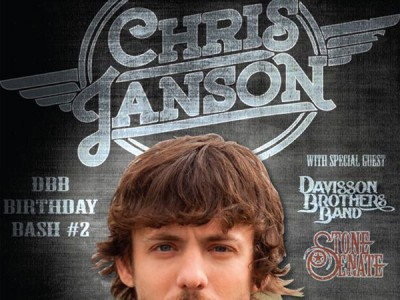 Davisson Brothers Band - Birthday Bash - Chris Janson